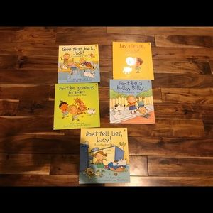 Lot of 5 Usborne Manners Books